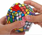 cubo di rubik, pentagono di rubik, gioco di logica