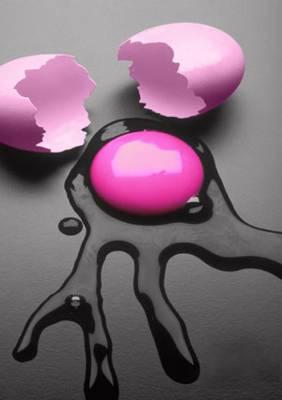 uovo rosa