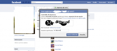 mr depraved, facebook, captcha facebook, ridere,